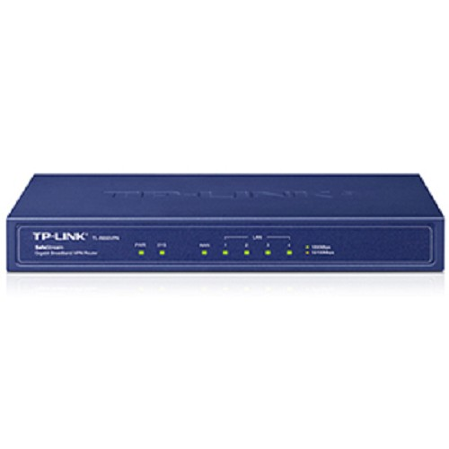 TP-LINK SafeStream Gigabit Broadband VPN Router [TL-R600VPN] - Router Consumer Wired